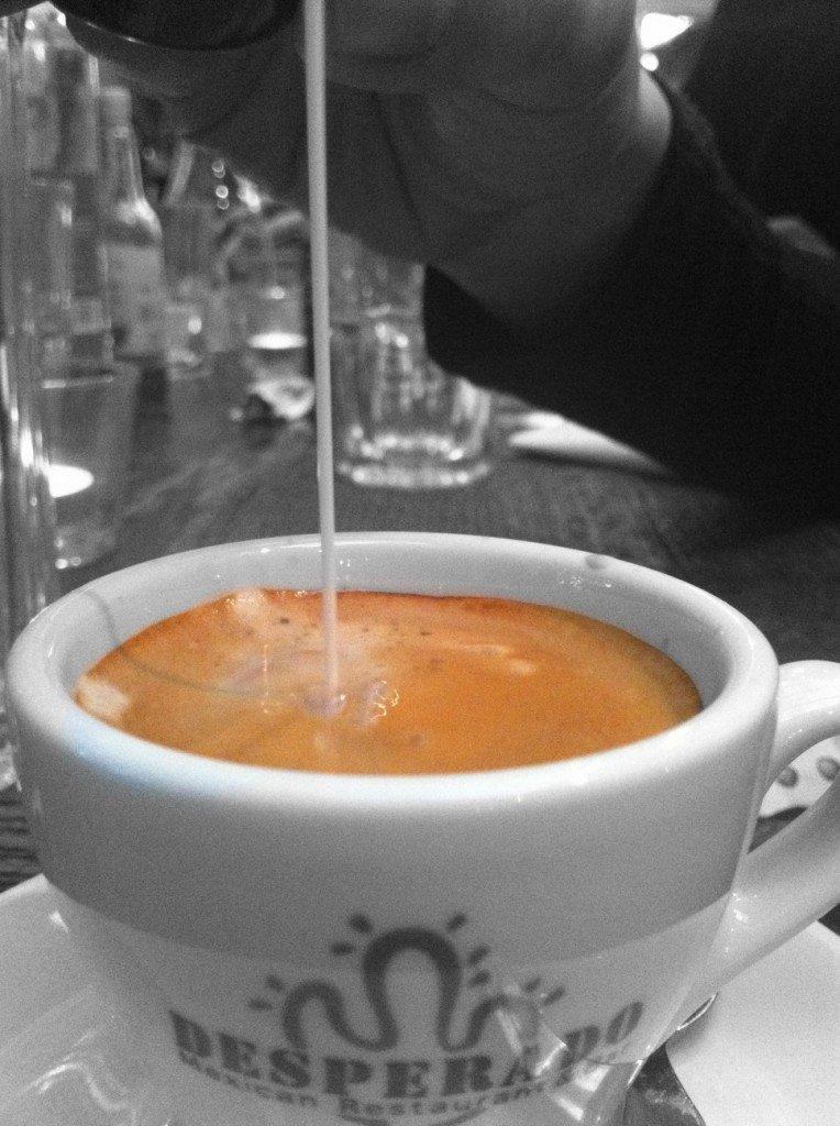 Ein Espresso nach dem Essen