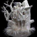 Papier Skulptur