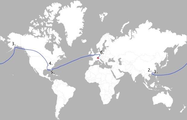 AppleTV Reise um die Welt