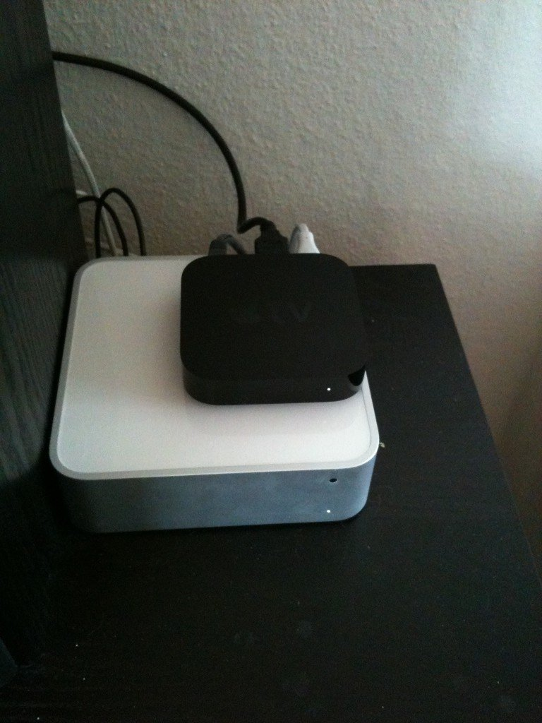 Apple TV vs. MacMini Server