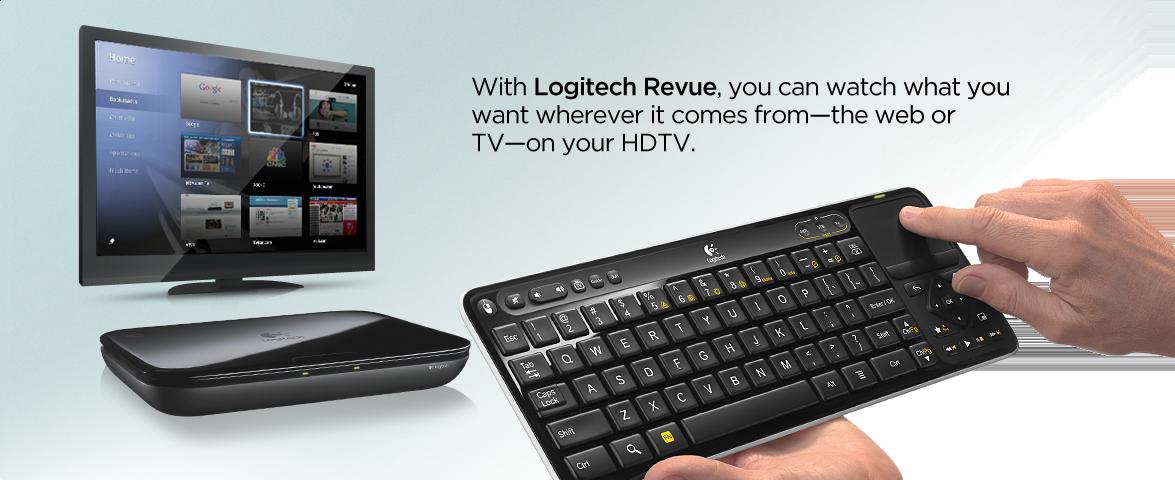 Google TV – Logitech