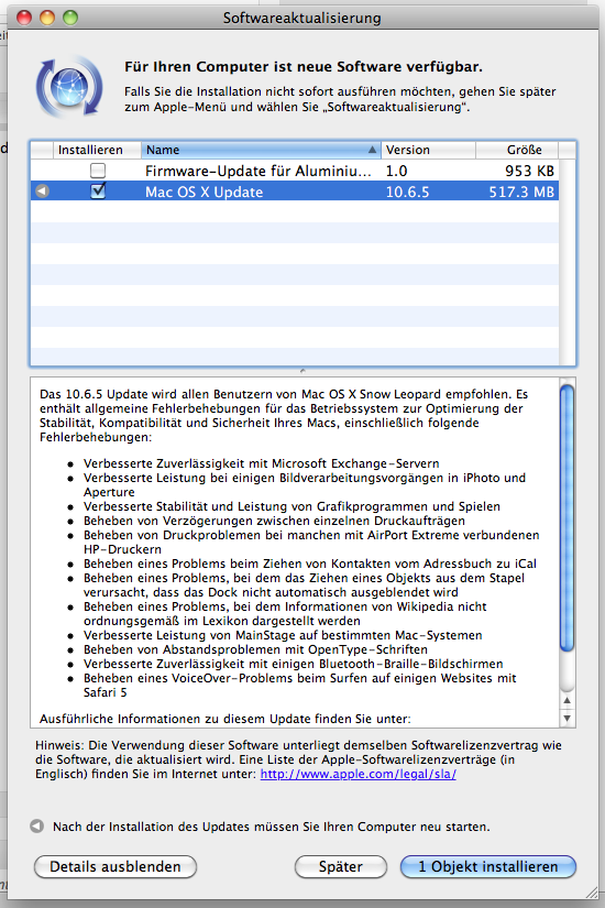 OSX 10.6.5