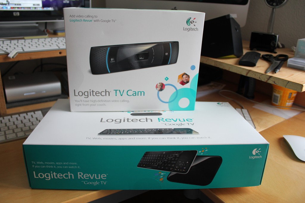 Logitech Google Revue & HDTV Video Cam