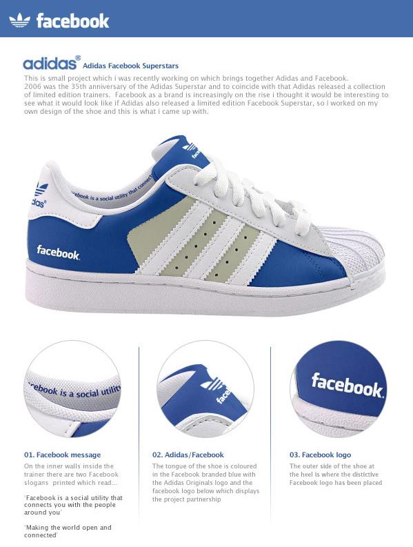 Facebook Adidas Schuh