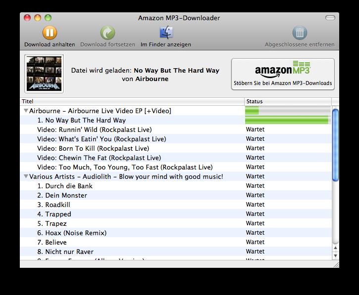 Amazons-Download Programm