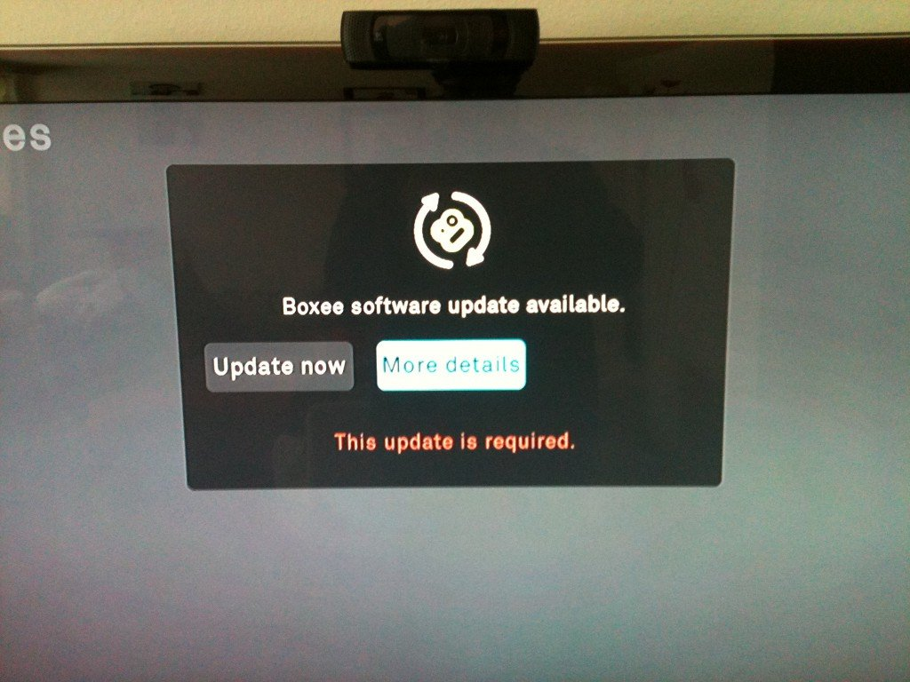 Boxee Update