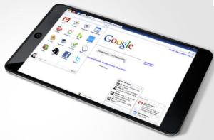 Spekuliertes HTC Tablet