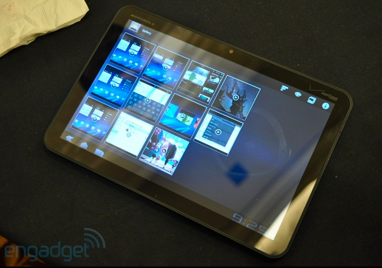 Xoom Tablet – Bildquelle Engadget