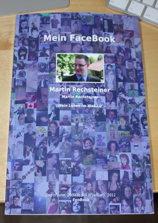 egobook - facebook-Buch