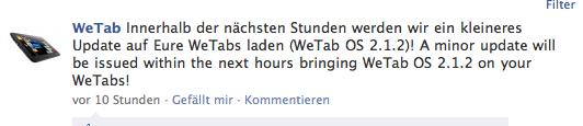 WeTab Update 2.1.2