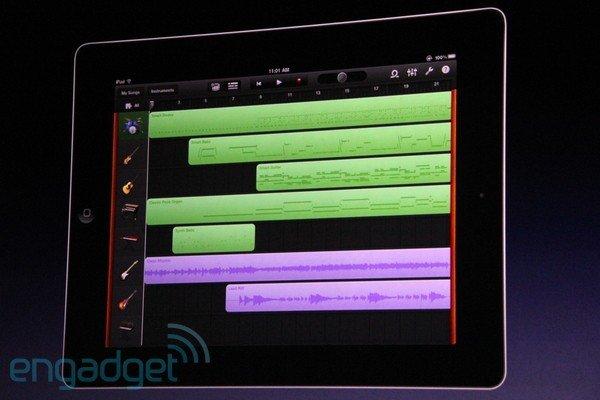 Garageband fürs iPad