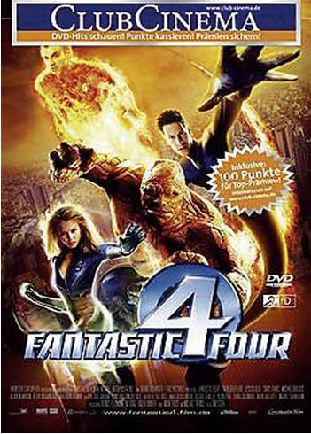 DVD – Fantastic Four