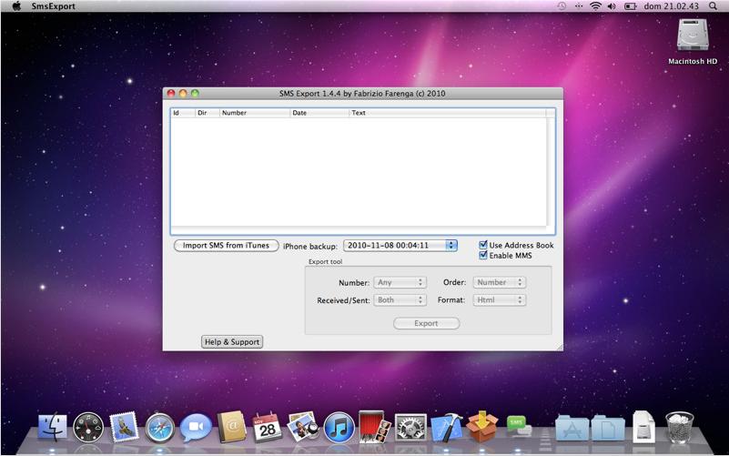 Mac App Store - Sms Backup