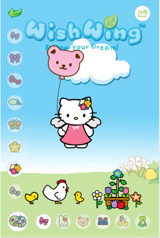 Hello Kitty Puzzle Game