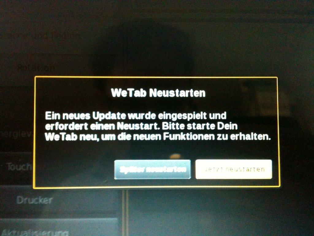 WeTab Update