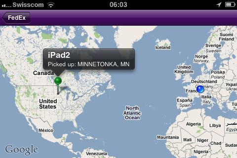 iPad 2 - Weiter Weg