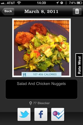 Meal Snap App