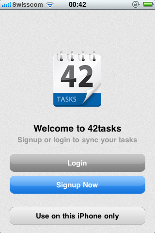 42Tasks - ToDo App/Dienst