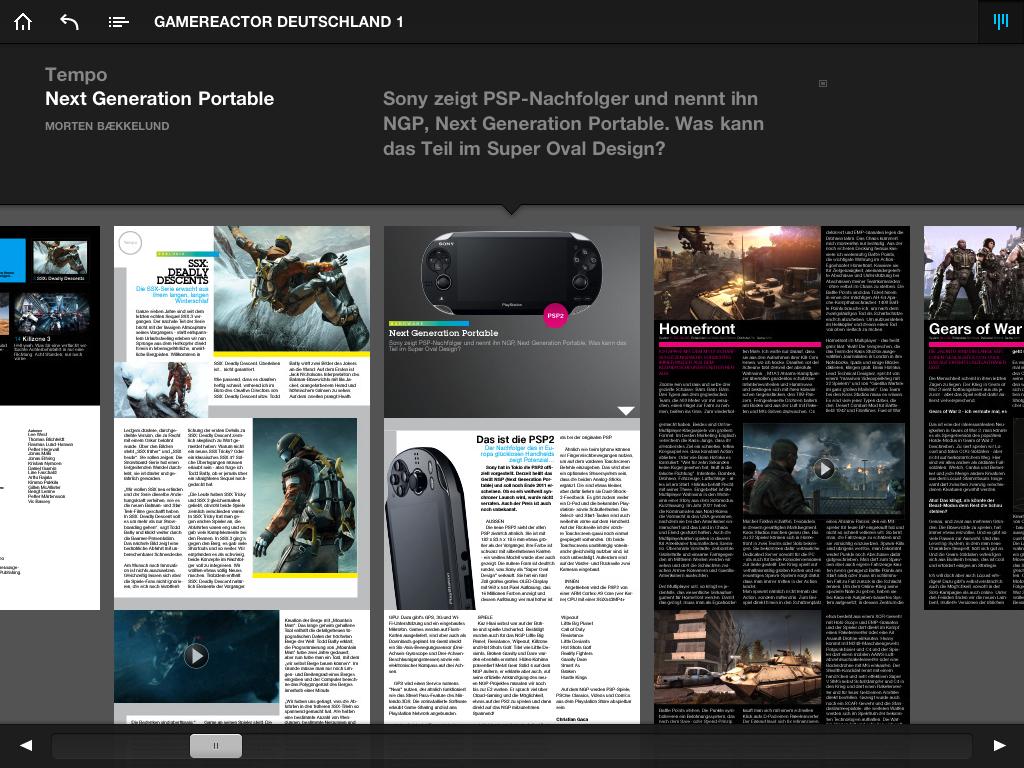 Gamereactor.de iPad App
