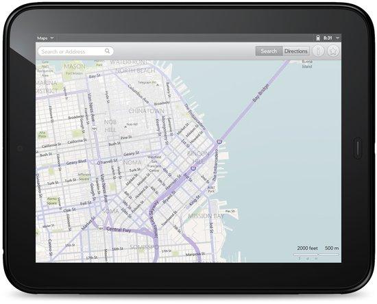 WebOS 3.0 auf dem HP TouchPad