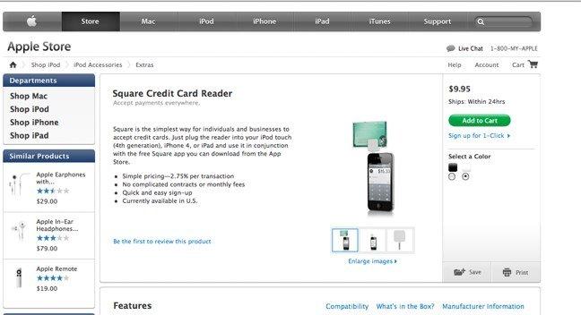 Square-Kreditkartenleser