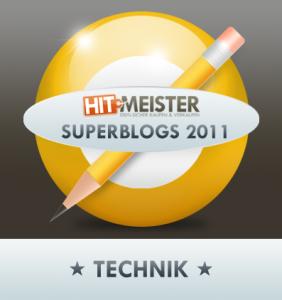 Hitmeister - Superblog 2011