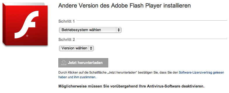 Update auf Adobe Flash 10.3 - Flash-Cookies