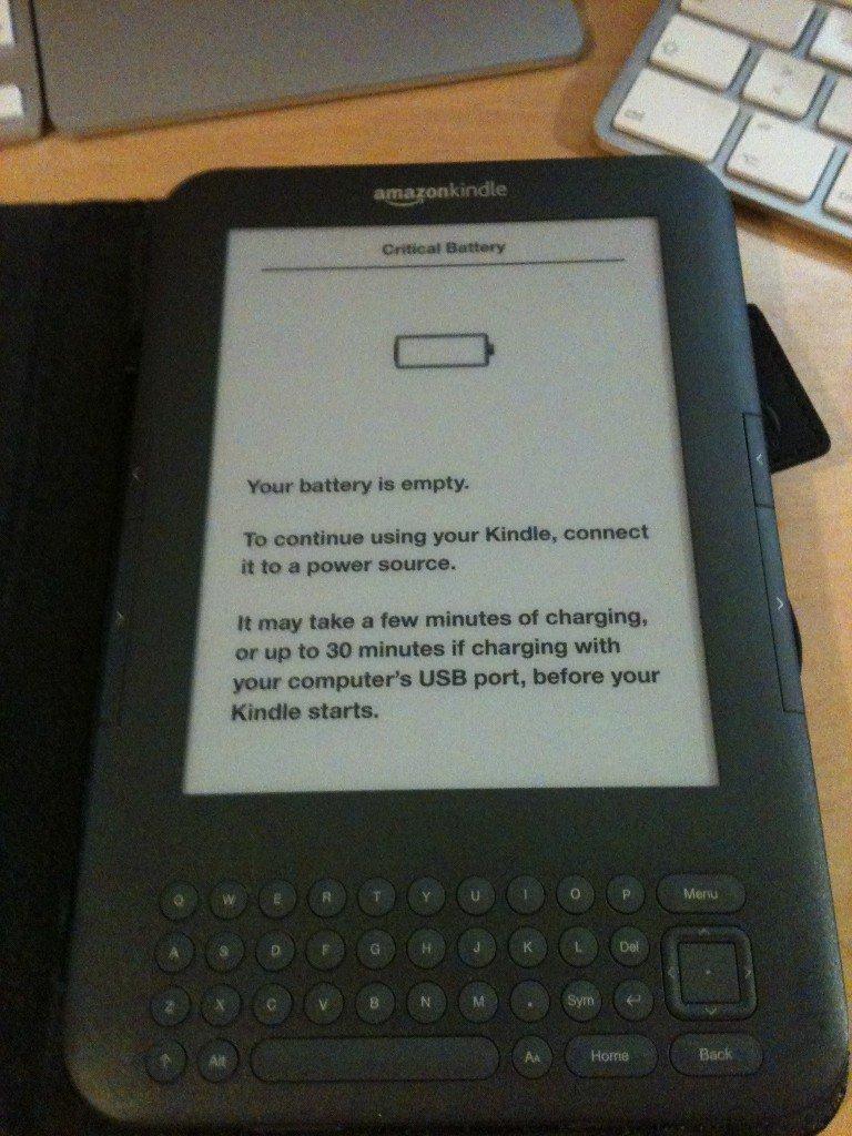 Der grösste Nachteil am Amazon Kindle