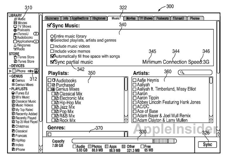 Apple Patent Antrag