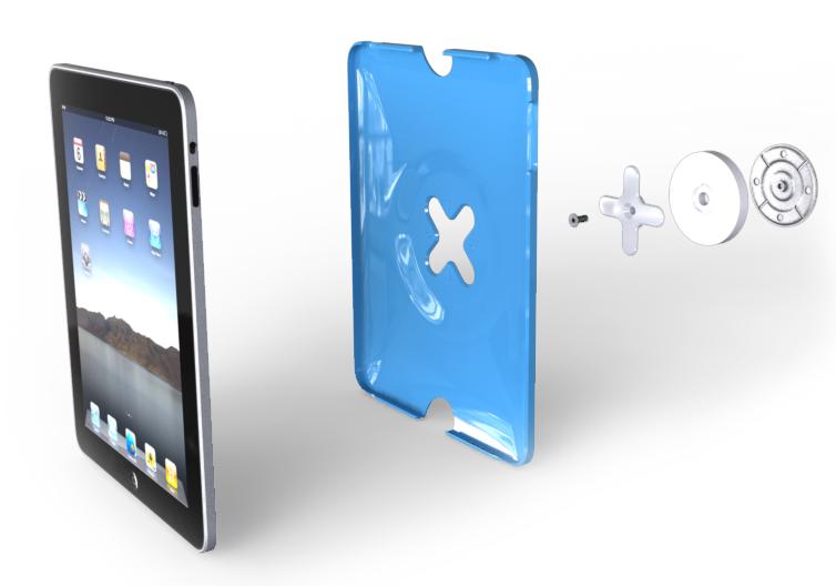iPad 2 Wandhalterung