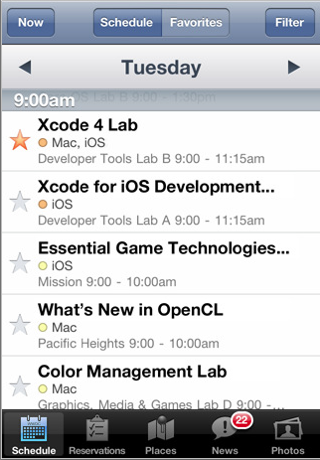 WWDC Application App
