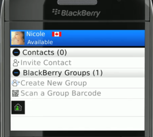BlackBerry Message