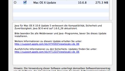 Mac - Java Update 5 für OS X 10.6