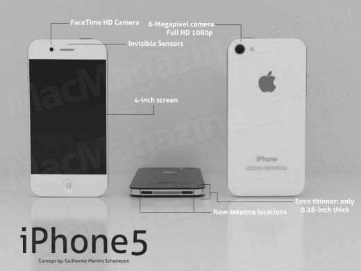 iPhone 5 - neues Mockup