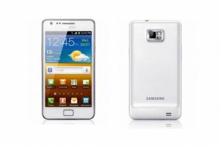 Samsung Galaxy S2 auch in weiss