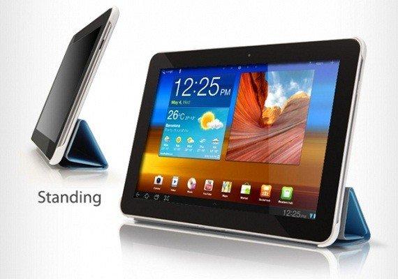 Smart Case fürs Galaxy Tab 10.1 und da soll mir nochmals jemand sagen Samsung und Co klaut keine ideen