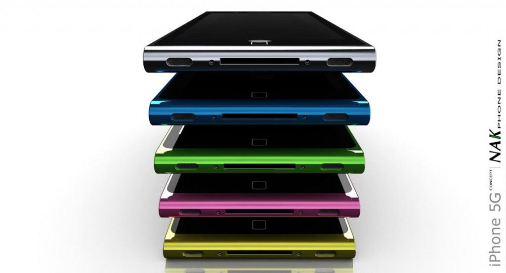 NAK-Design - überarbeitetes iPhone 5 Konzept