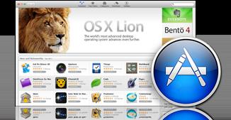 OS X Lion App Store