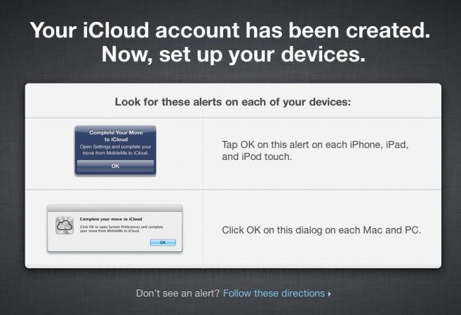 MobileMe kann zu iCloud migriert werden inkl. 20 GB Speicher & Aliase