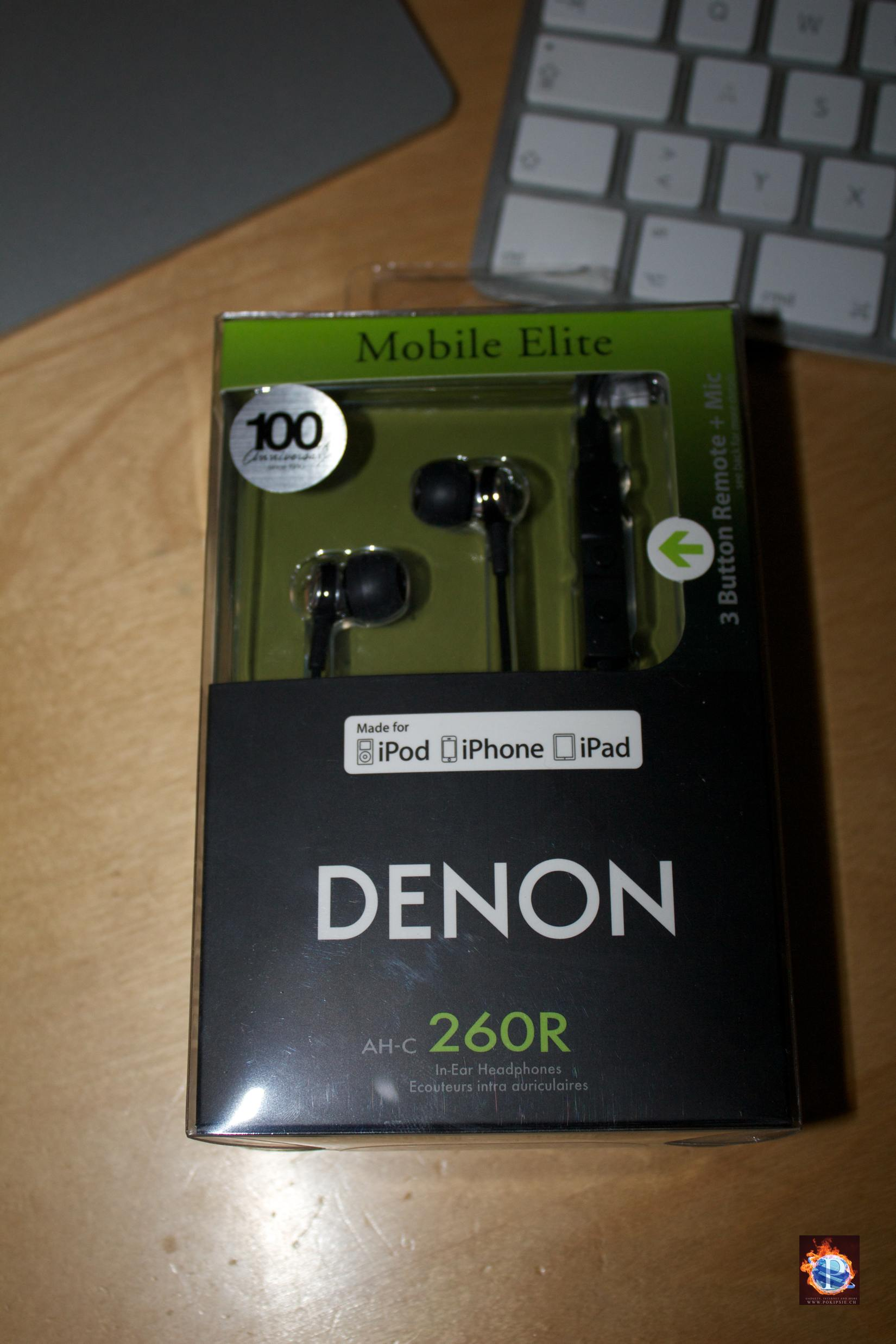 denon ah c260r in ear kopfh rer im test pokipsie network. Black Bedroom Furniture Sets. Home Design Ideas