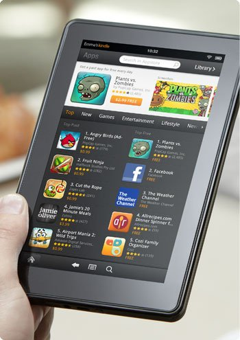 "Neue Kindle Reader – und ein iPad Konkurrent ""Kindle Fire"" von Amazon"