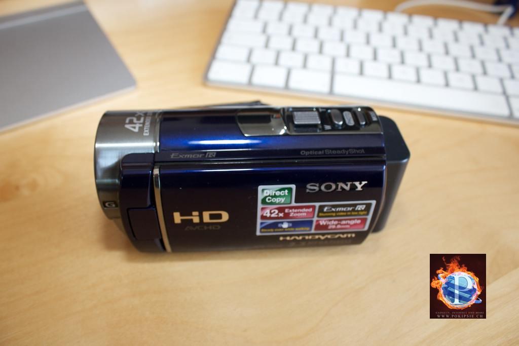 Sony HDR-CX130 – meine neue Video Kamera
