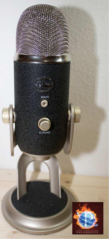 Podcast Mikrophon – Blue Yeti Pro