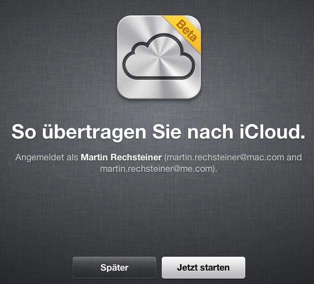 iOS 5 – Heute Abend für alle – 12. Oktober 2011