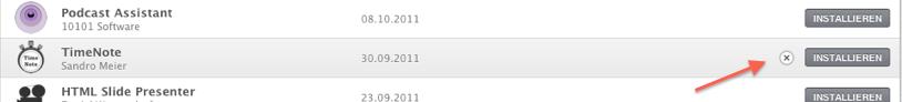 Mac App Store – gekaufte Apps verstecken