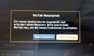 WeTab OS - Update 2.4