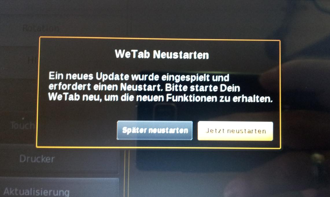 WeTab OS – Update 2.4