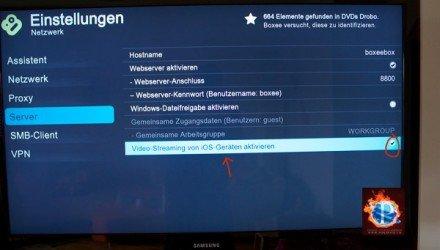Boxee Box kann jetzt auch AirPlay