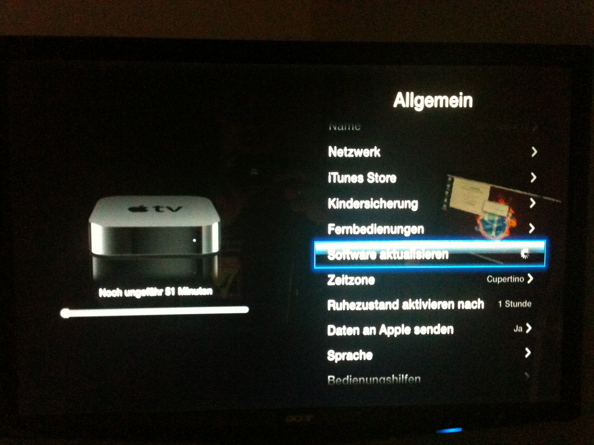 Apple TV Update iOS 5