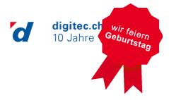 Digitec feiert sein 10 jähriges Bestehen